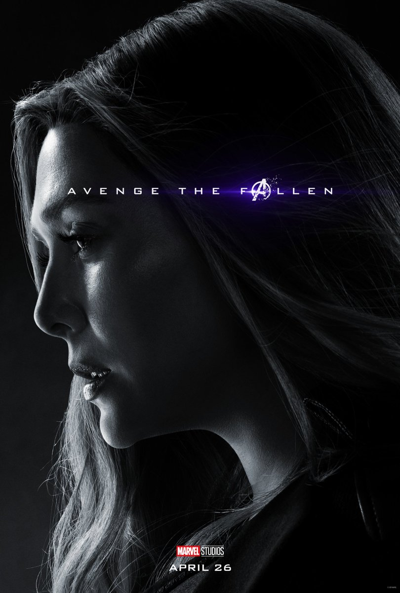 Avengers: Endgame Character Posters Unleashed 6