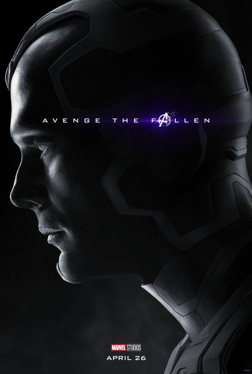 Avengers: Endgame Character Posters Unleashed 7
