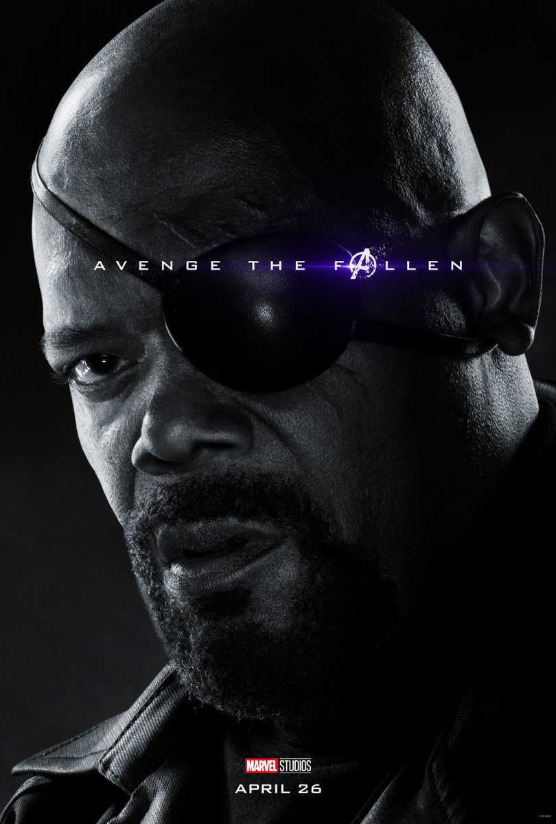 Avengers: Endgame Character Posters Unleashed 8
