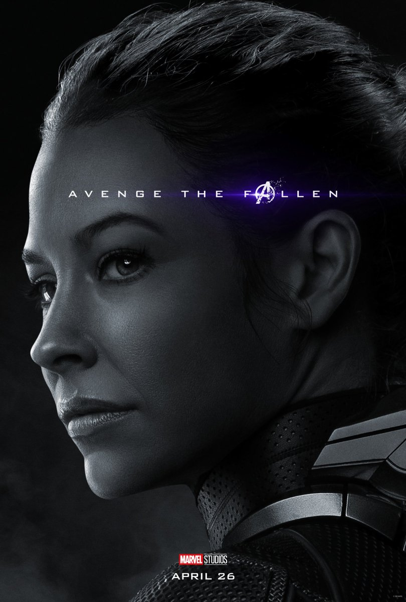 New Avengers Endgame Character Posters Complete The Set