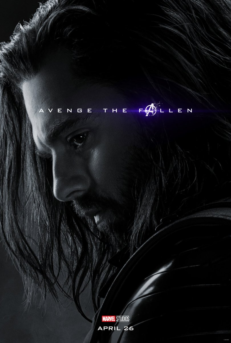 Avengers: Endgame Character Posters Unleashed 14
