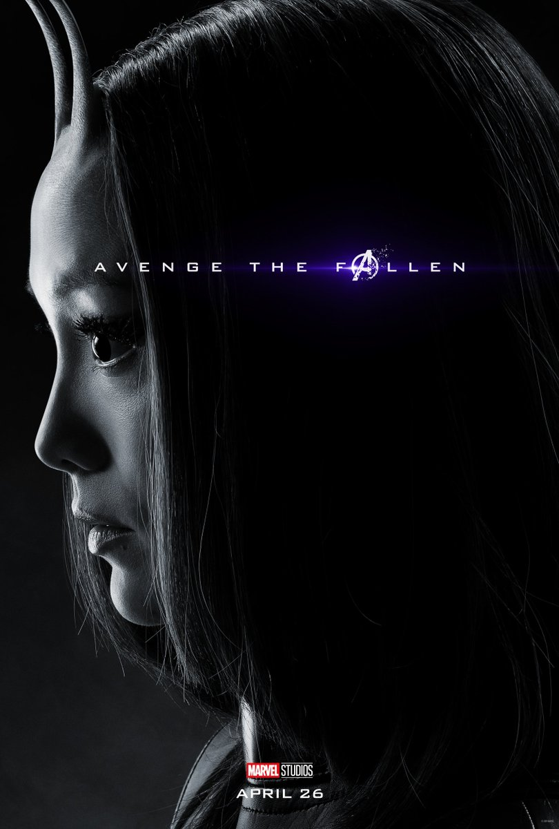 Avengers: Endgame Character Posters Unleashed 12