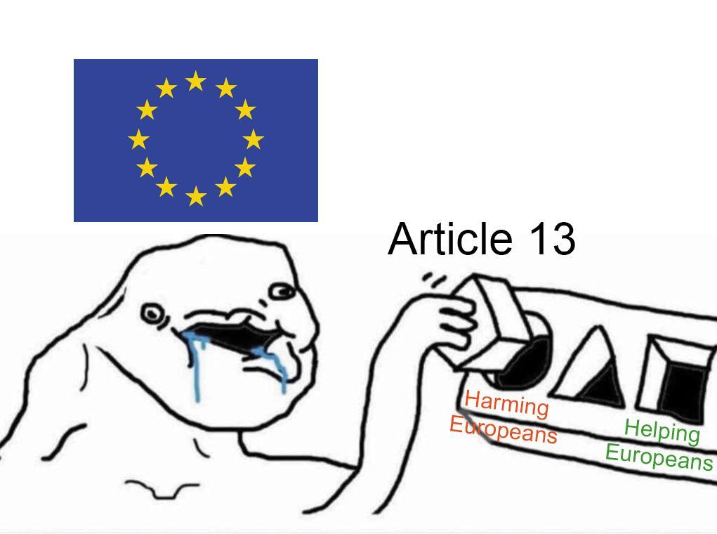 fucking dumbass europe