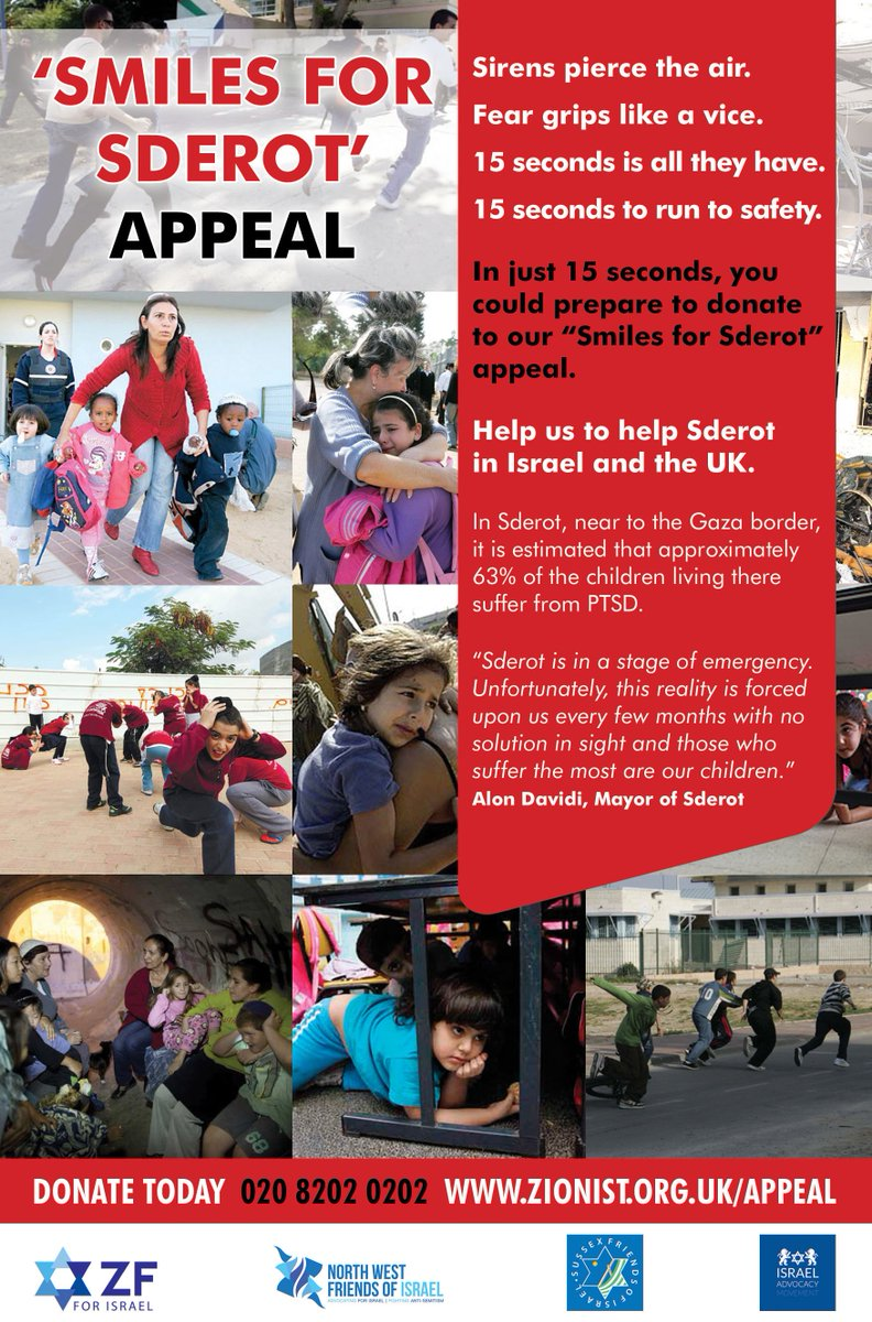 An Appeal From Federation For Children >> Zionist Federation On Twitter Smilesforsderot Is Our