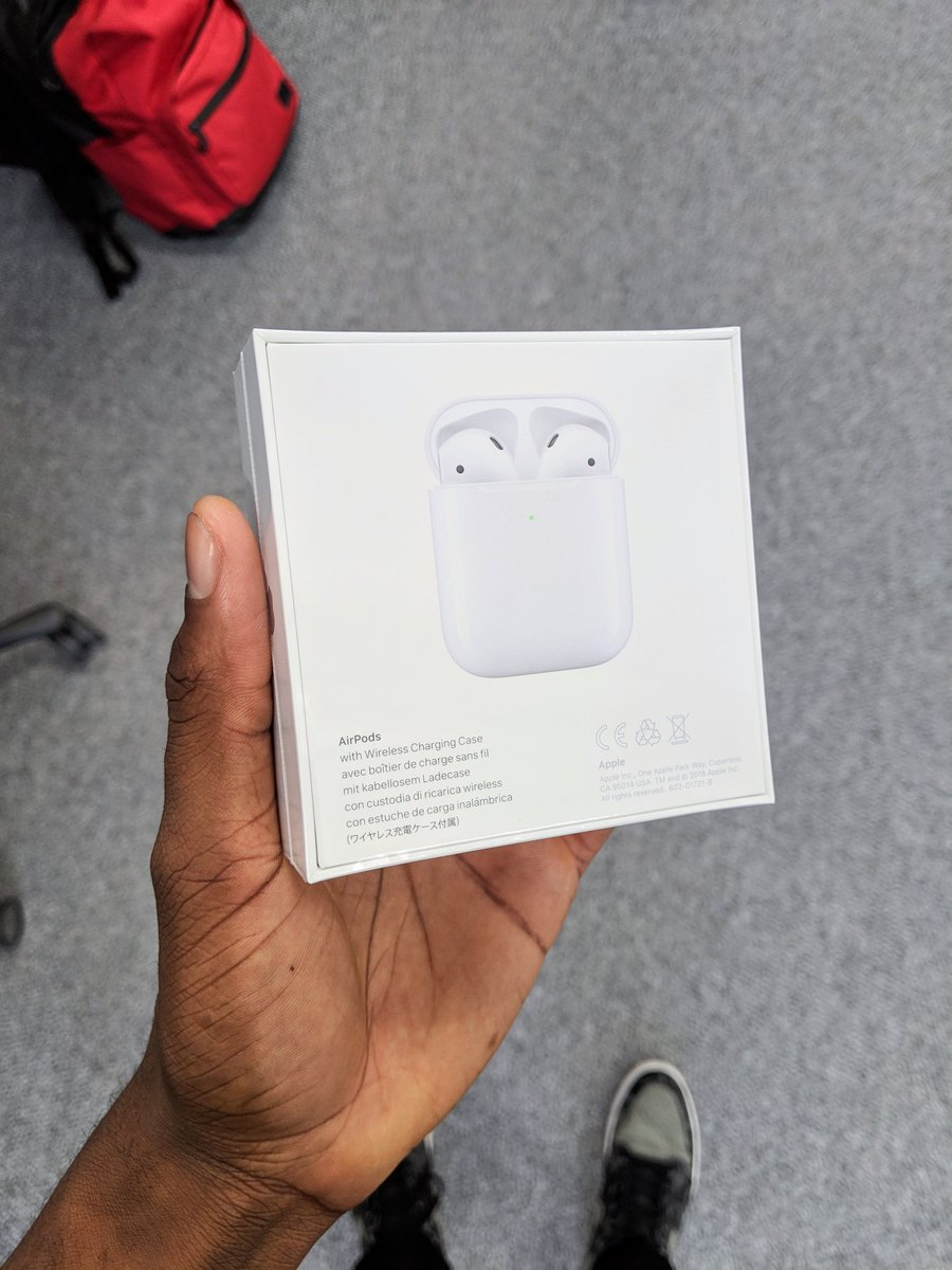 Marques Brownlee On Twitter Airpods 2 In The House And Yes It