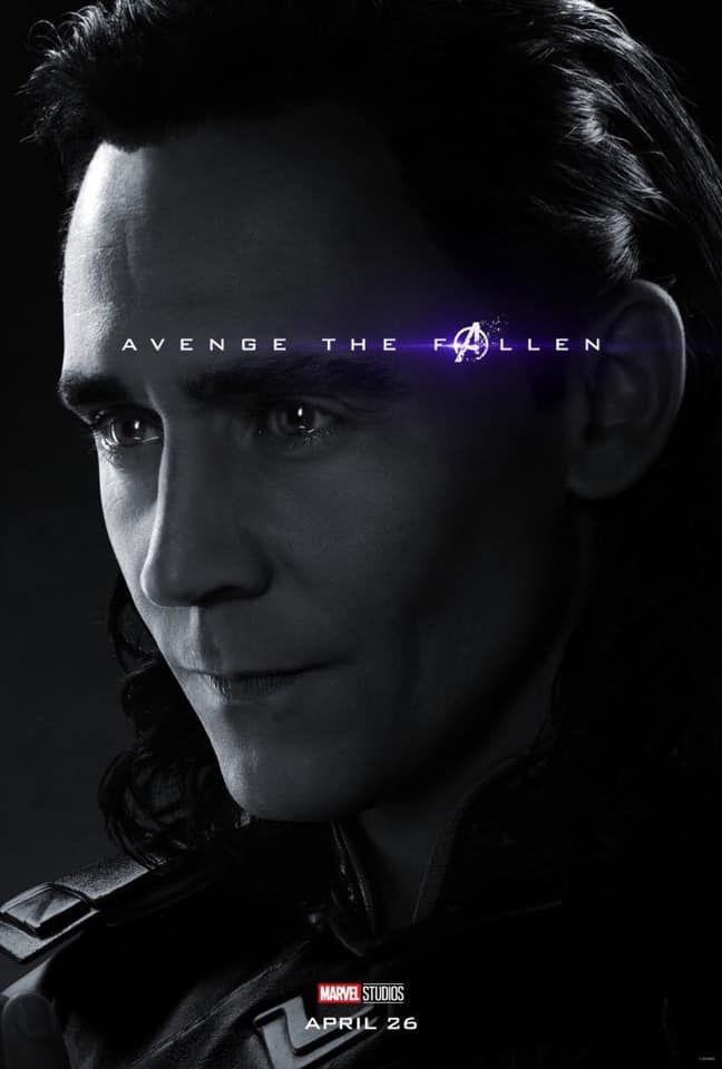 Sólo falta 1 mes para #AvengersEndgame Y los vengadores nos han compartido estos geniales posters  ¿Y tú estás listo? (2)