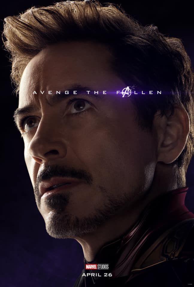 Sólo falta 1 mes para #AvengersEndgame Y los vengadores nos han compartido estos geniales posters  ¿Y tú estás listo? (1)