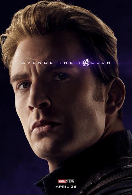 Sólo falta 1 mes para #AvengersEndgame Y los vengadores nos han compartido estos geniales posters  ¿Y tú estás listo? (3)