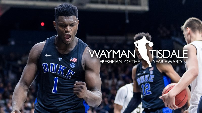 RT @DukeOfHoops: Zion Williamson Wins Tisdale Award as Nation's Best Freshman - Duke Report https://t.co/kqAjv5qJui https://t.co/z2tyw04dPh