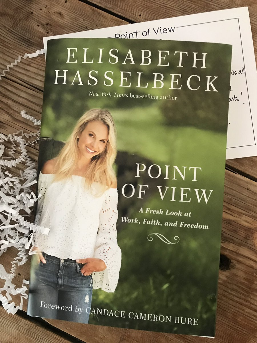 Huge congrats to my friend @ehasselbeck on the release of her new book today.