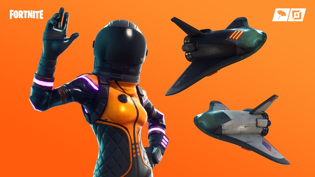 Adventure beyond our world 🚀  Dark Vanguard has landed in the Item Shop! Wukong and Tomatohead are available too!