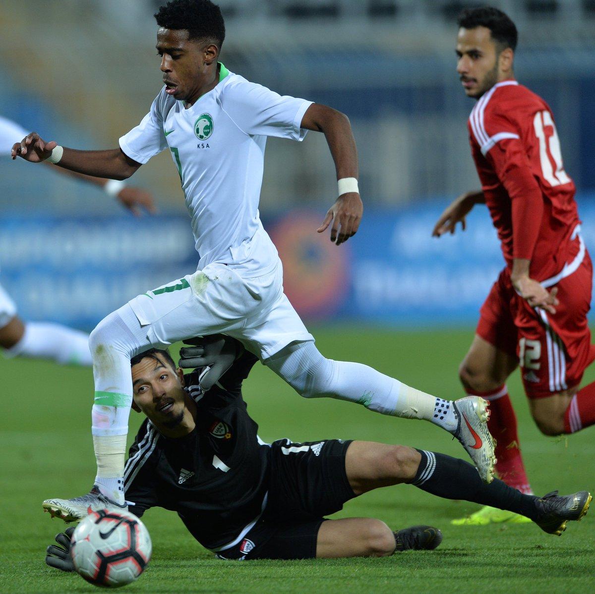 RT @SaudiNT: 📸 ـــ من المباراة 😍! #السعودية_الإمارات #معاك_يالأخضر https://t.co/vMNR3xDHWF