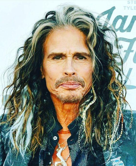 Happy birthday to Aerosmith\s Steven Tyler who turns 71 today!