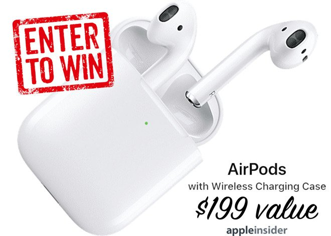 #Giveaway: Enter to #win a #free pair of #Apple's new #AirPods with Wireless Charging Case https://t.co/YUrwxgagWC https://t.co/PyQvvl4fV9