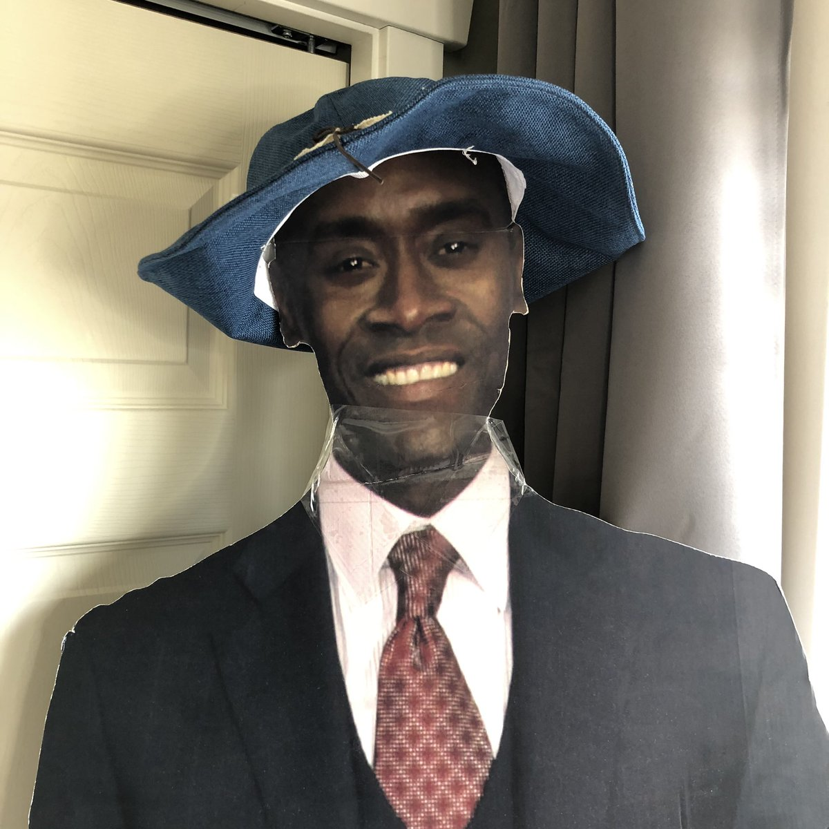 I leave for A FEW DAYS only to find Don went fancy hat shopping without me smh