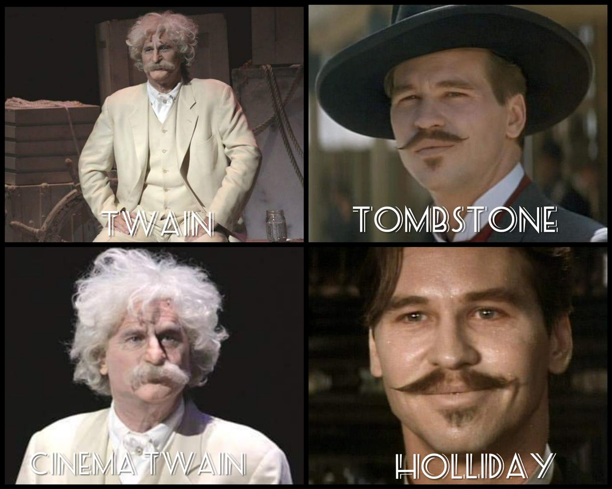 ccf571cd29ae7 What do Twain and Holliday have in common  DOUBLE FEATURE at  HelMelStudio  - Tombstone