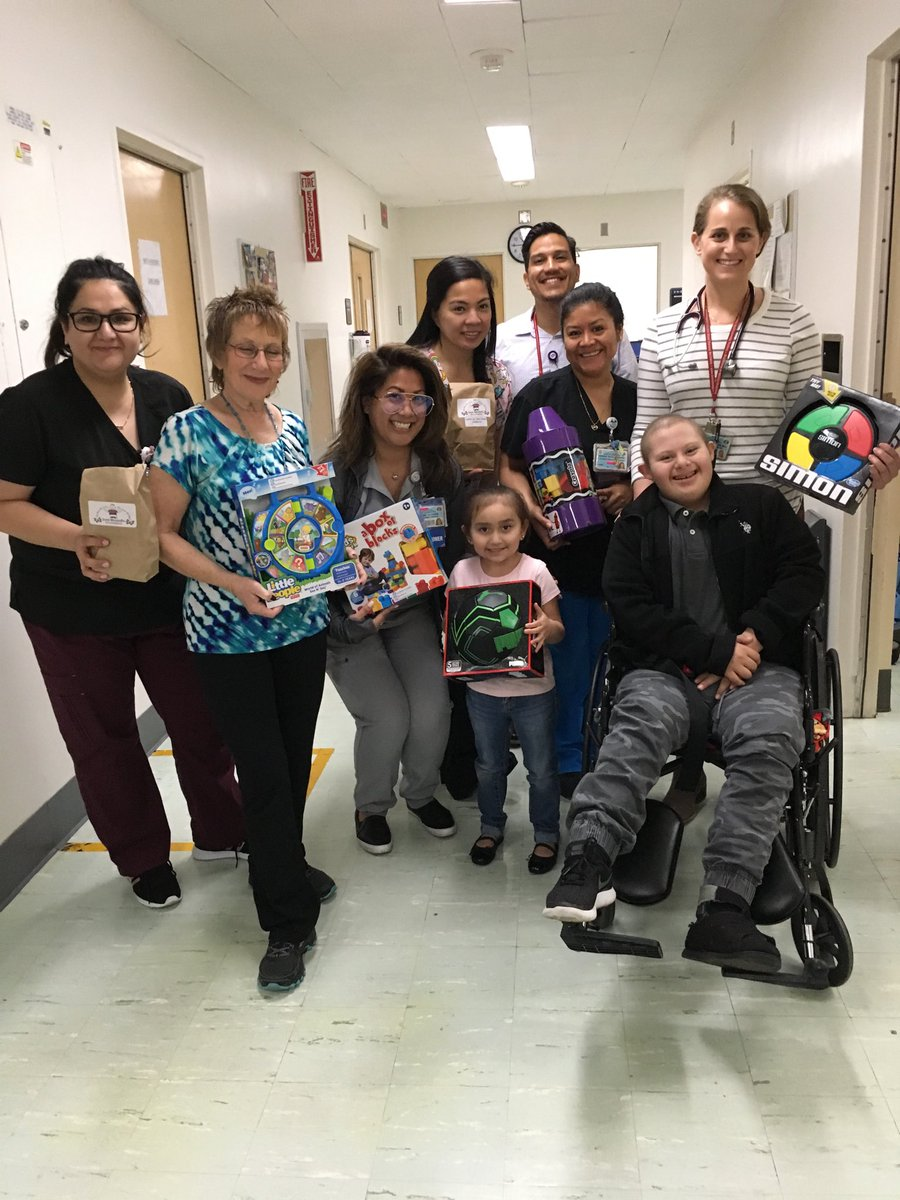 Our Harbor-UCLA Pediatrics family helped us celebrate Jose's