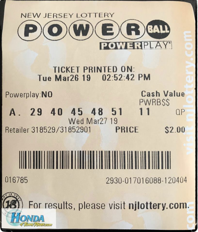 #PowerBall $750,000,000 | If we WIN we will be sharing the earnings with everyone who LIKES, COMMENTS & REPOSTs the below photo!  *MUST repost, comment and like to be qualified. Winners must be following the Honda of Toms River Twitter page. Has to be completed prior to drawing. https://t.co/Yh9K2xw6LK