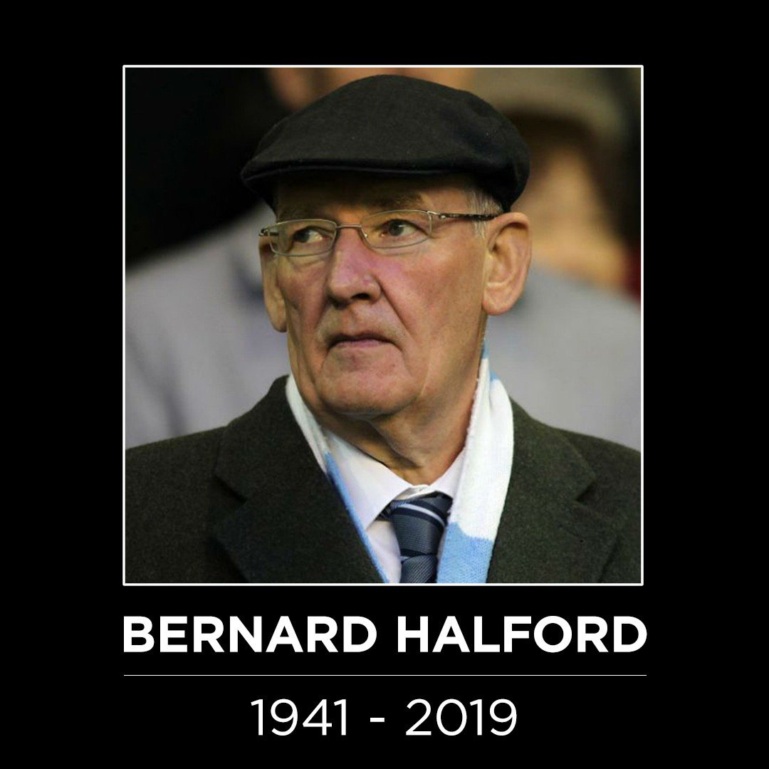 Manchester City's photo on Bernard Halford