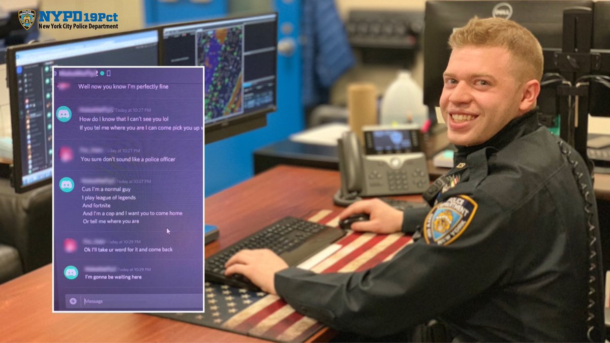 Police Officer Used Discord To Find A Teenager Alienware