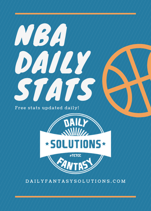 Looking for some help with tonight's #NBA slate? 🏀💥   Swing by, http://bit.ly/2X1VRhE and check out our FREE stats. Want to take it a step further? Our NBA VIP room features chatter, advice, coaching & so much more. DM to get started now for as low as $3! #Fanduel #Draftkings