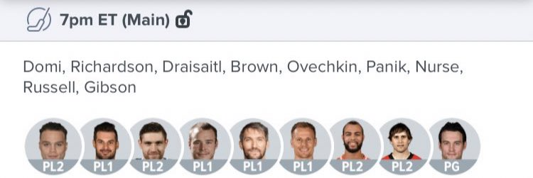 Tonight's FREE NHL line!!! 🔥💪🏻💸  Let us know if you're playing! And if you win DONT FORGET TO TIP (DM for details)👍🏻🙏🏻  #NHL #Hockey #DFS #Fantasy #FanDuel #DraftKings #FreePicks