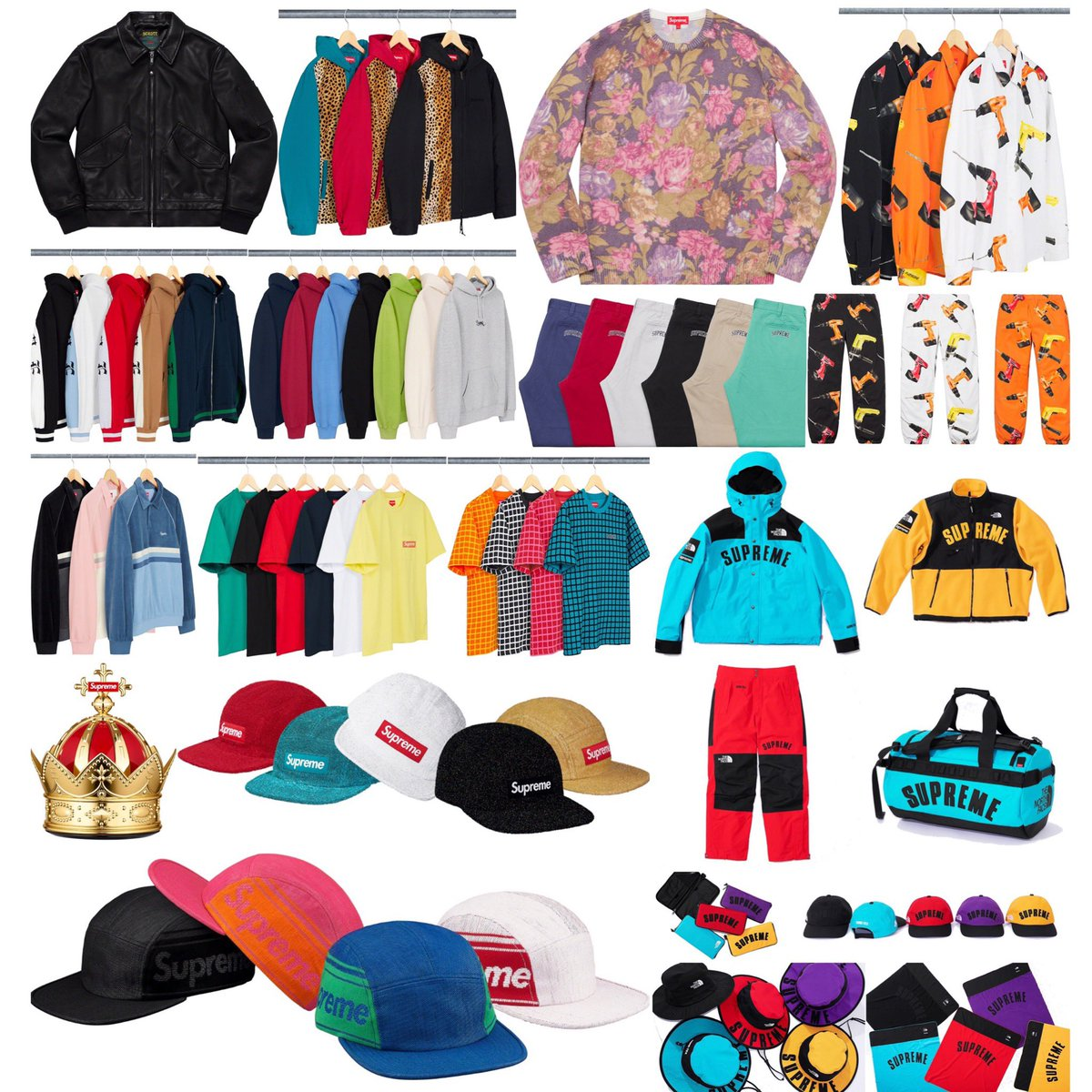 5b27b1c9a944 Supreme Week 5 Droplist Highlight by The North Face Collab All of this is  set to drop this Thursday March 28th at 11am eastern. Will share retails  later ...