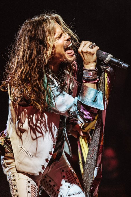 Happy birthday my hero Steven Tyler Your career and your music fill my heart with emotions. I love you