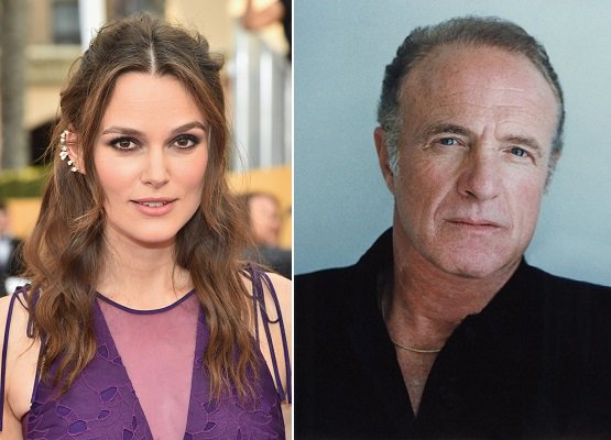 HAPPY BIRTHDAY !  Keira Knightly  and  (the great) James Caan
