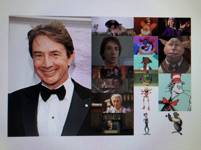 Happy 69th Birthday to comedian, actor, singer, and writer, Martin Short!