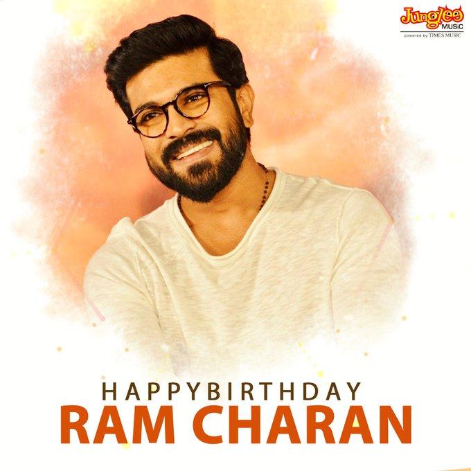 Wishing Mega Power Star Ram Charan A Very Happy Birthday!