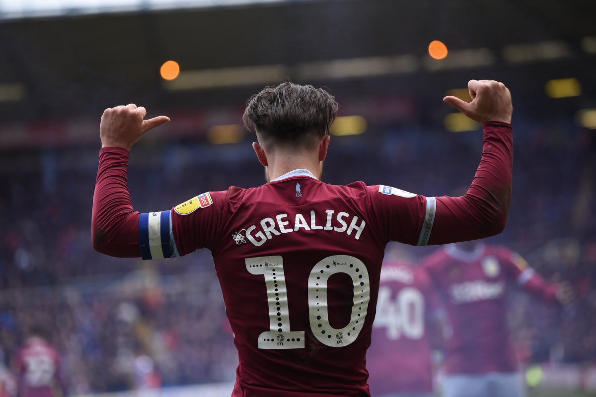 Unpopular opinion:  Jack Grealish (@JackGrealish1) is the best player in the Championship.  #AVFC #AstonVilla https://t.co/EBcE4zmx5y