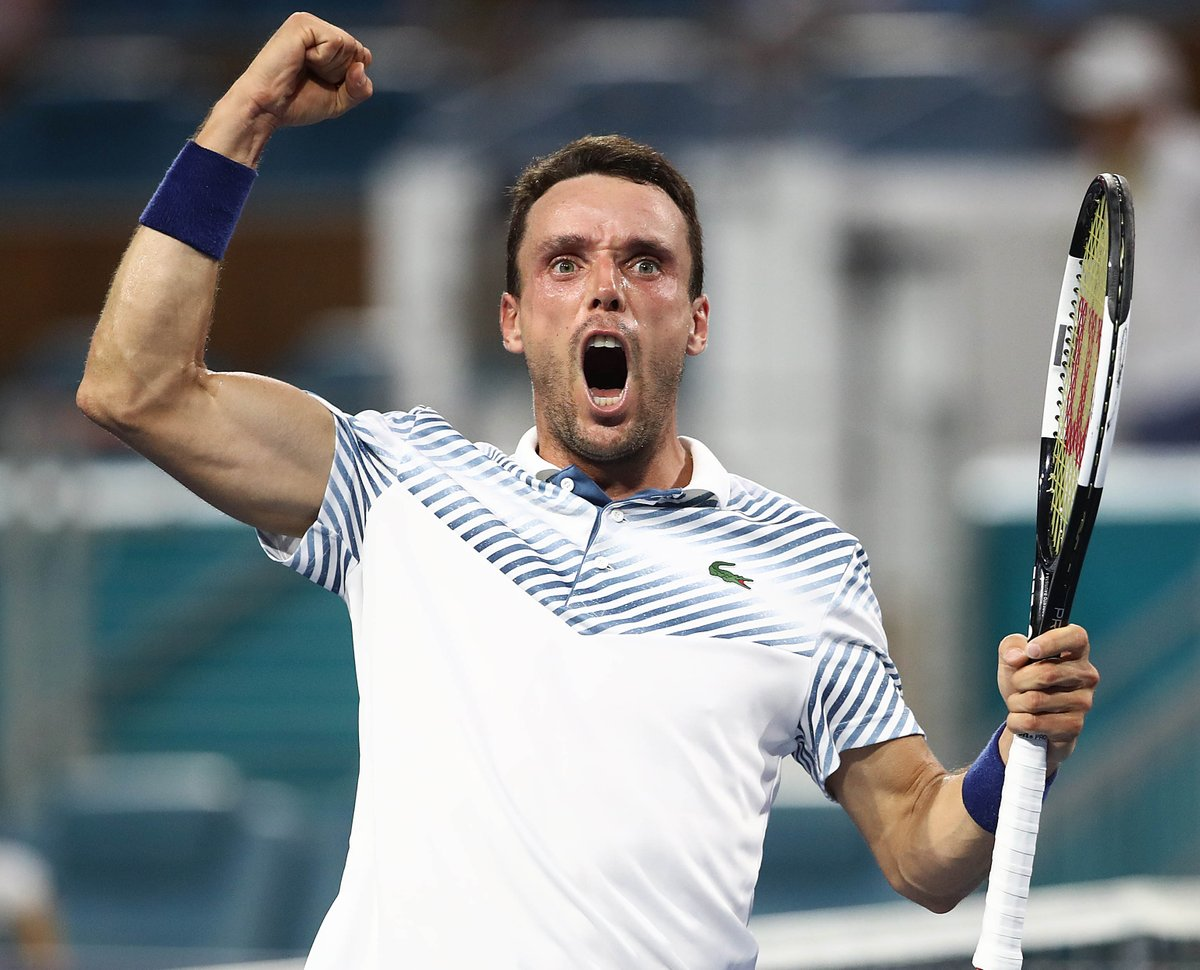 For the second time this year, @BautistaAgut takes down the world No.1... 👉 bit.ly/2UblPks #MiamiOpen