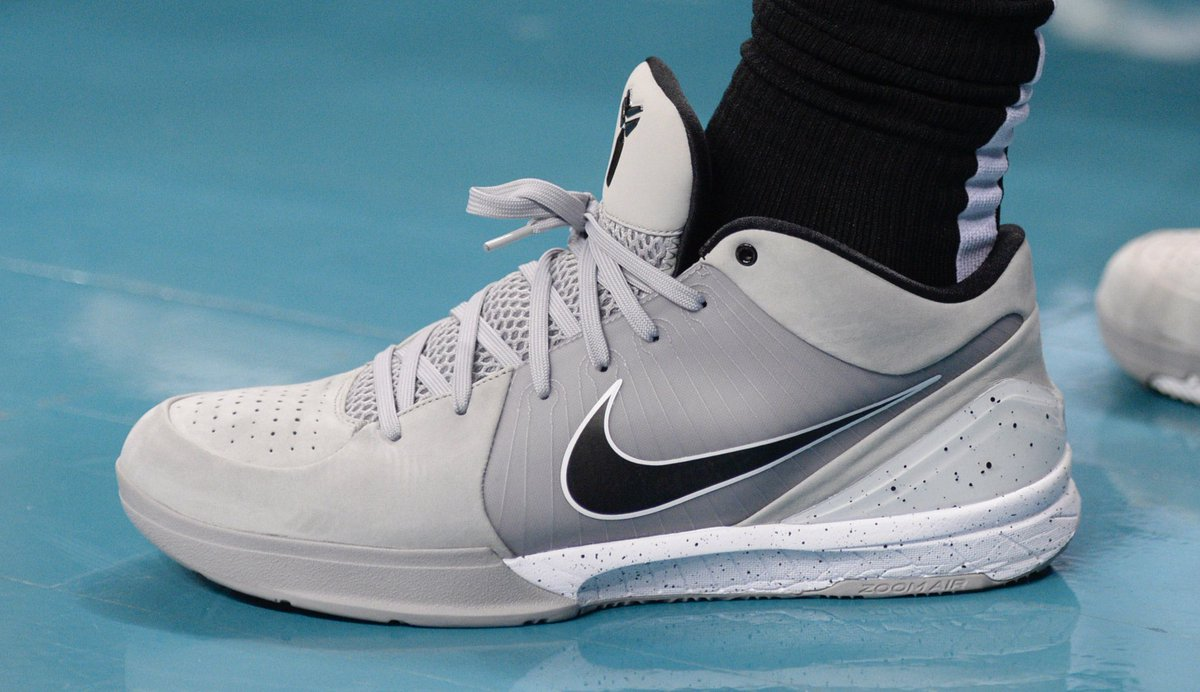 394d9402cac demarderozan in another spurs flavored nike zoom kobe 4 protro sam sharpe