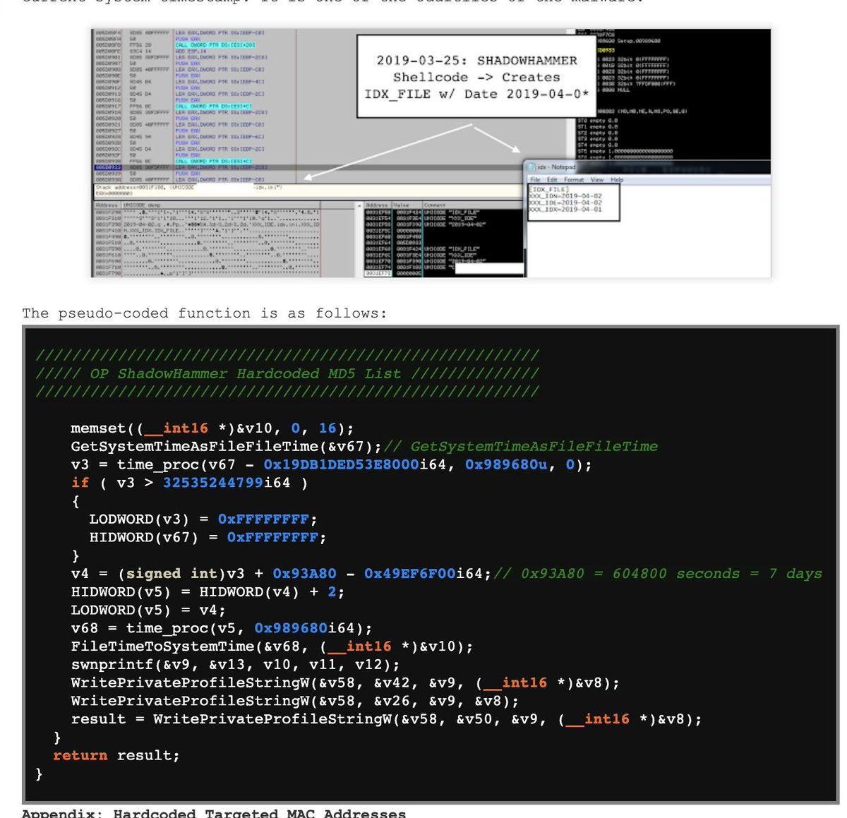 shellcode hashtag on Twitter