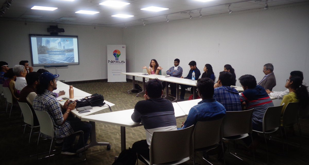 test Twitter Media - On March 26 @NexusDelhi in collaboration with @cleanairasia organized an interactive session on opportunities for startups in environmental sustainability. Thank you  @prarthana_delhi for a great discussion! https://t.co/m8iAJnoGzp