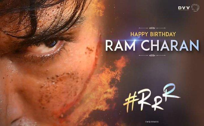 Happy birthday to you ram Charan Anna