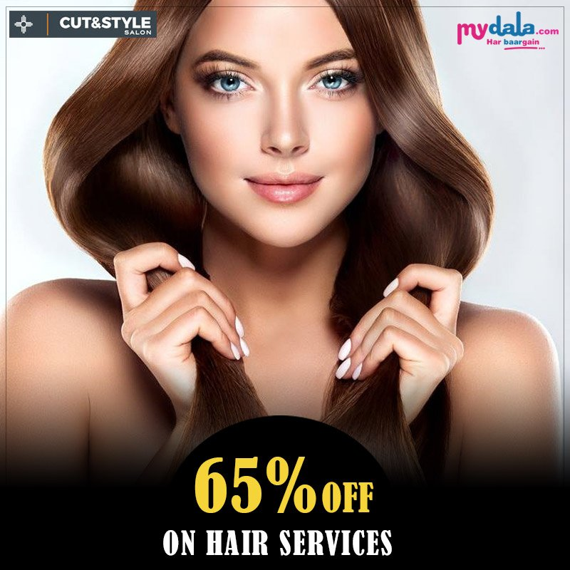 Great Hair Doesn't Happen By Chance, It Happens By Appointment.  #offer #discount #hairservices #appointment #salonoffers Upto 65% On Hair services. Book Now: https://t.co/9eN721zcjD https://t.co/OugxysZONc
