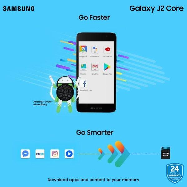 SamsungMobileTz Go faster, Go Smarter ukiwa na #GalaxyJ2Core