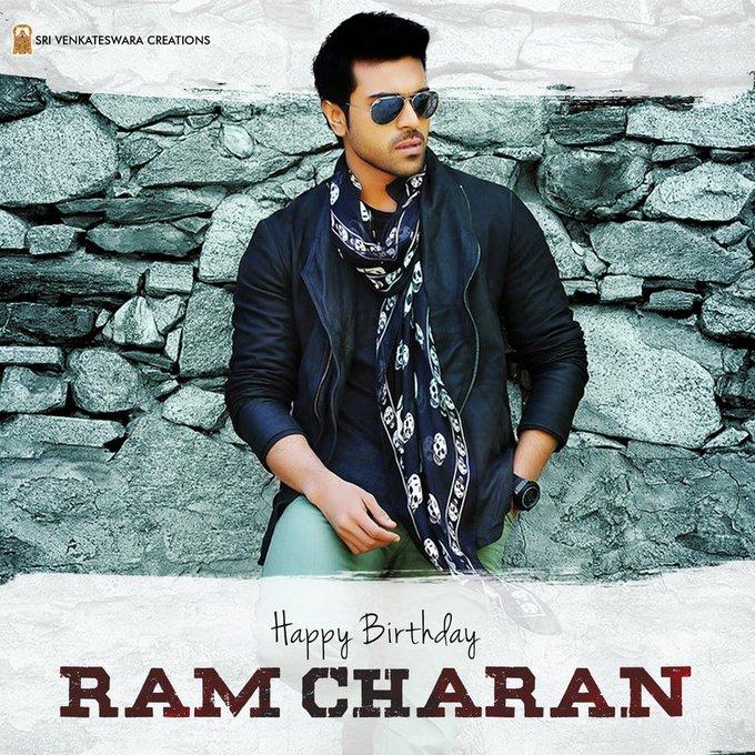 Wishing Mega Power Star Ram Charan, a very Happy Birthday!!