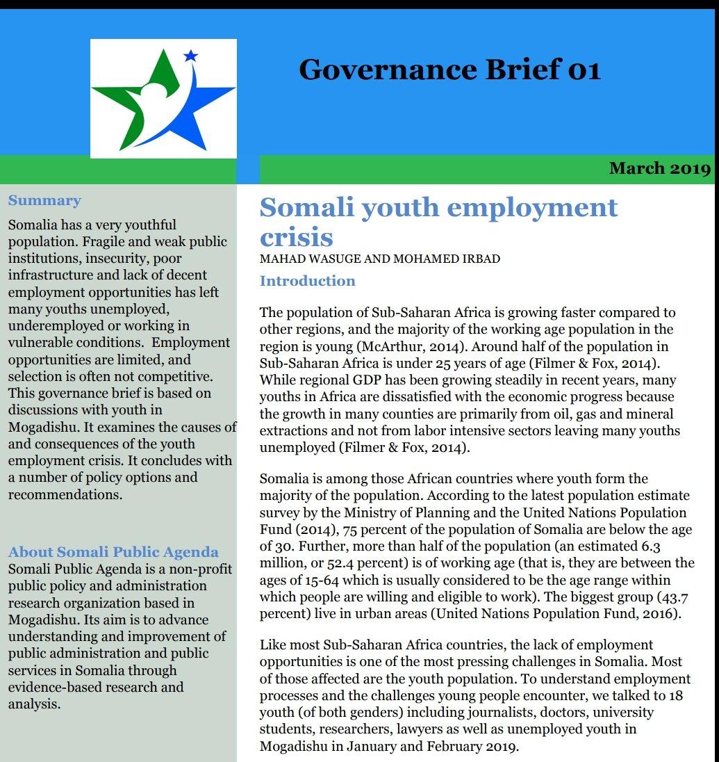Somali Public Agenda on Twitter: