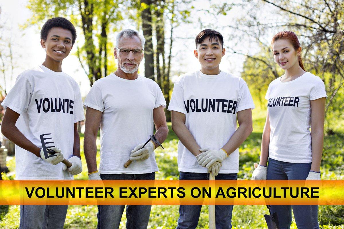 Agriculturevolunteer hashtag on Twitter