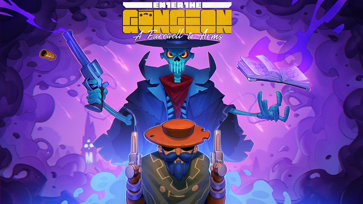 Enter the Gungeon A Farewell to Arms Free Expansion April 5 PlayStation / Xbox / Switch / PC