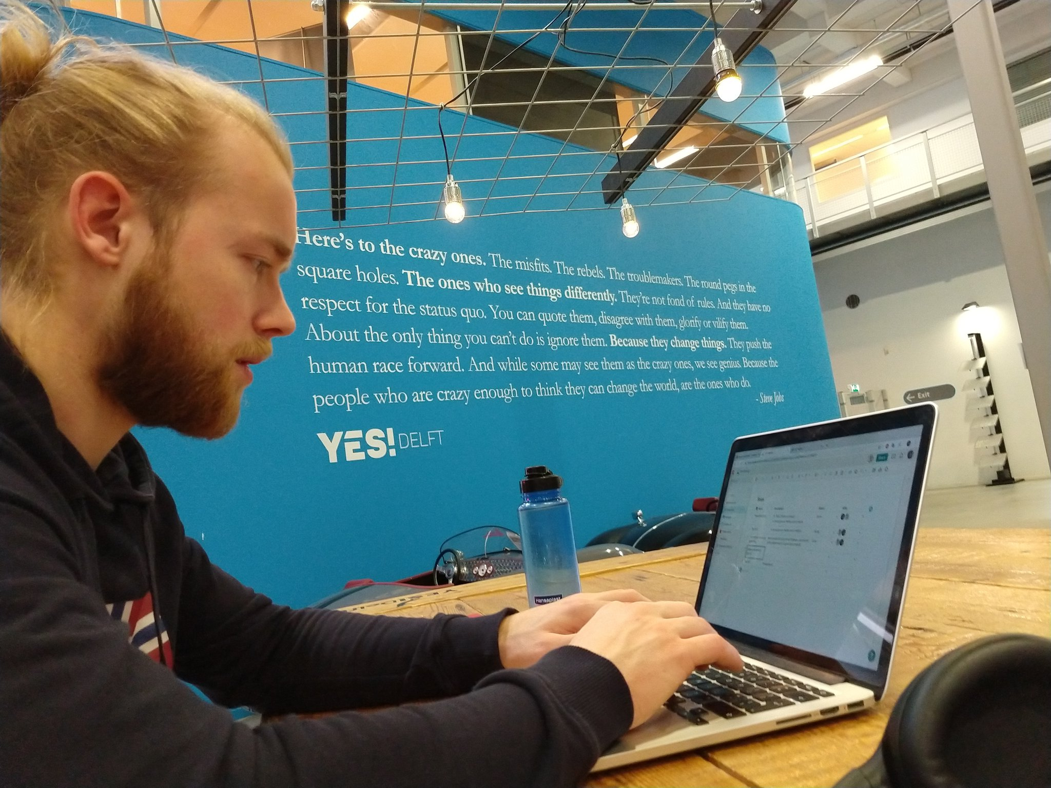 Working at YES!Delft