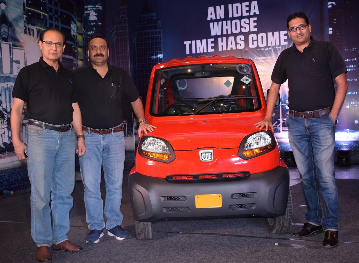 Bajaj auto launches country's first Quardricycle in Gujarat