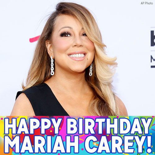 Happy Birthday, Mariah Carey! What s your favorite Mariah Carey classic?