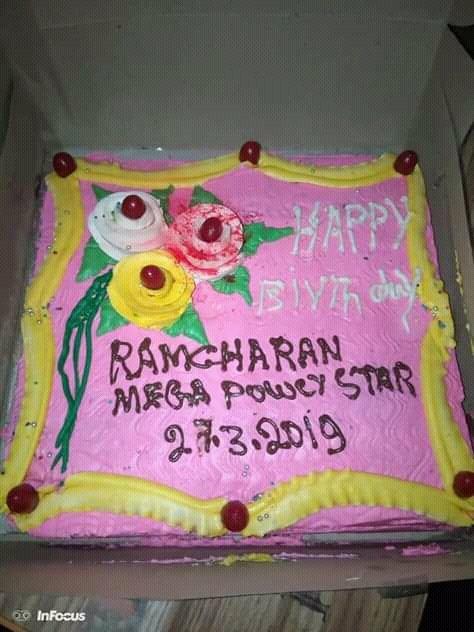 Happy birthday RAM Charan Anna party hard tonight...