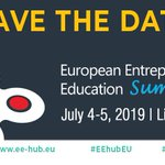 Registrations are open for the European Entrepreneurship Education Summit. Join the #EEHUBeu discussions with experts in #entrepreneurship #education, EU policy-makers, government officials, educators, business and NGO representatives. #SwitchOnEurope ▶️https://t.co/u8NjYFgmvE