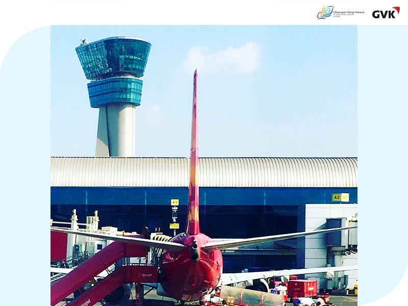 The Air Control Tower stands tall watching over the