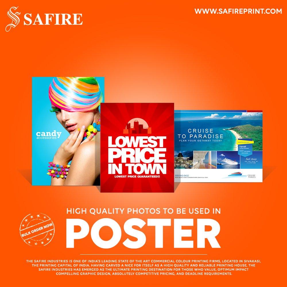 Hashtag #posterprinting di Twitter